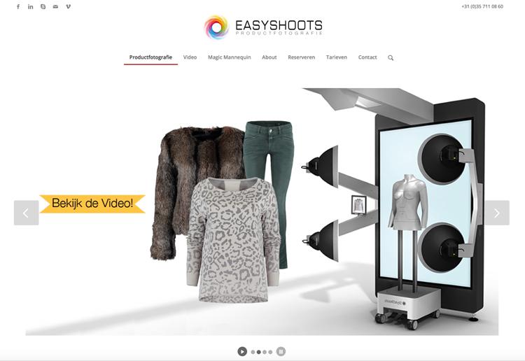 Easyshoots website