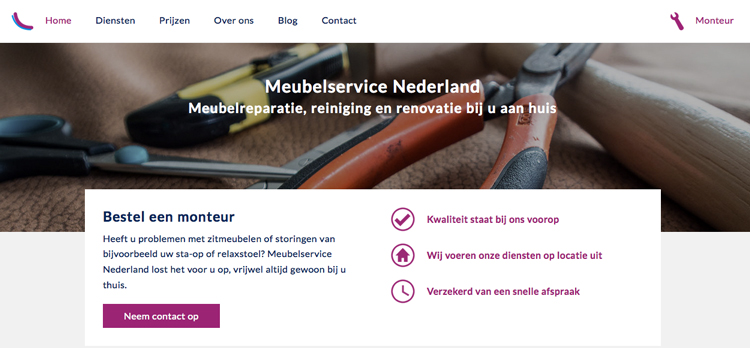 Meubelservice NL web