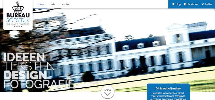 Bureau Soestdijk website