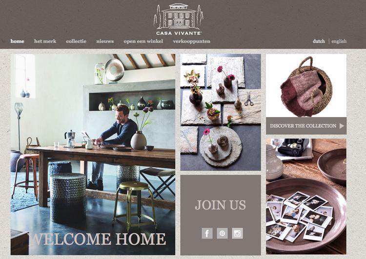 Website Casa Vivante