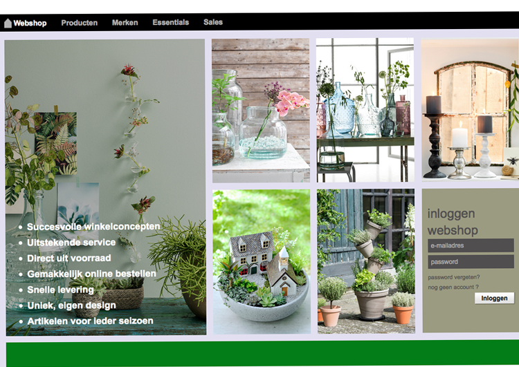 Webshop Edelman