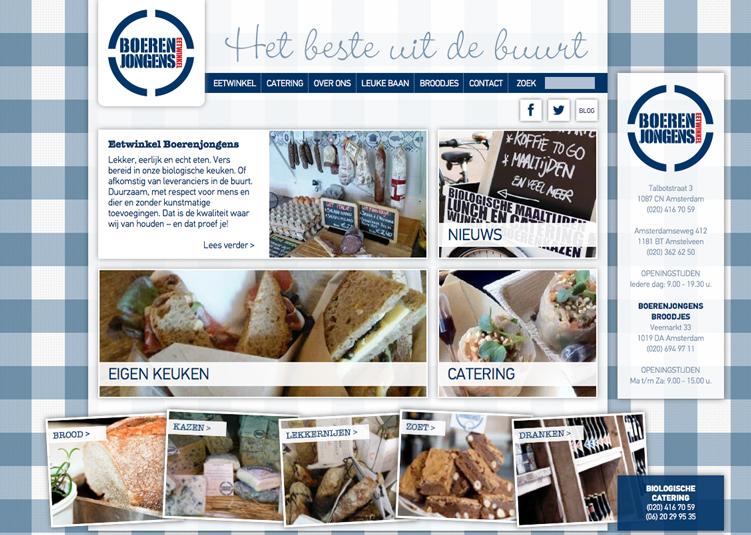 Website Boerenjongens