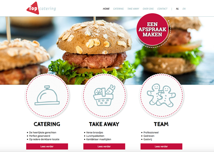 Website Top Catering