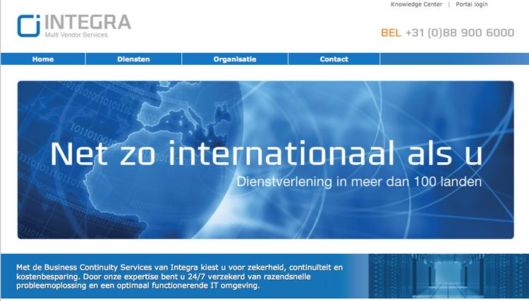 Integra MVS web