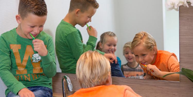 Kinderen bij de tandarts