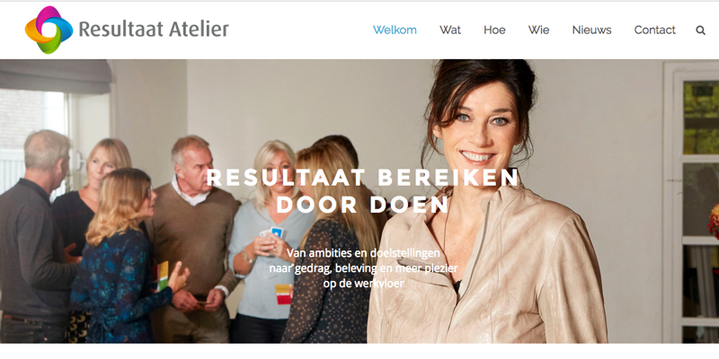 website Resultaat Atelier